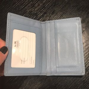 Coach Bags - NEVER USED COACH ID HOLDER